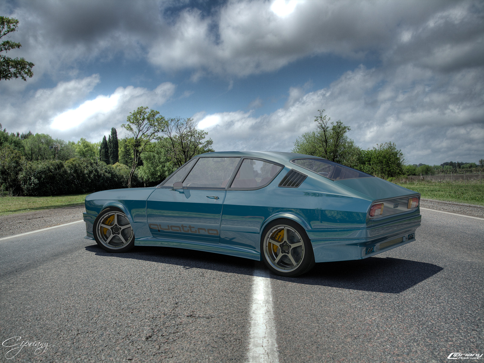 Audi 100 Coupe S Tuned 2 By Cipriany On DeviantArt