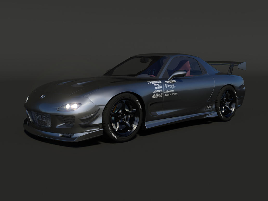 mazda rx 7 tuned 7 by cipriany on deviantart. Black Bedroom Furniture Sets. Home Design Ideas