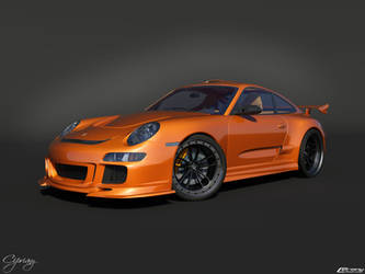 Porsche 911 GT3 Tuned 7 by cipriany