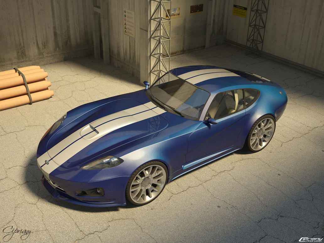 Ford Cobra concept 5 by cipriany