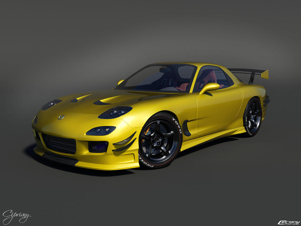 mazda rx 7 tuned 12 by cipriany on deviantart. Black Bedroom Furniture Sets. Home Design Ideas