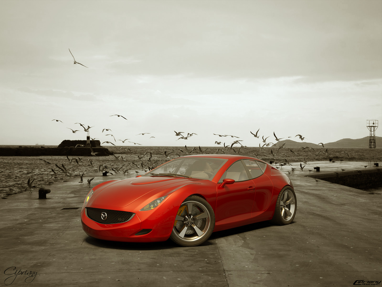 Mazda RX-Z concept 20 by cipriany