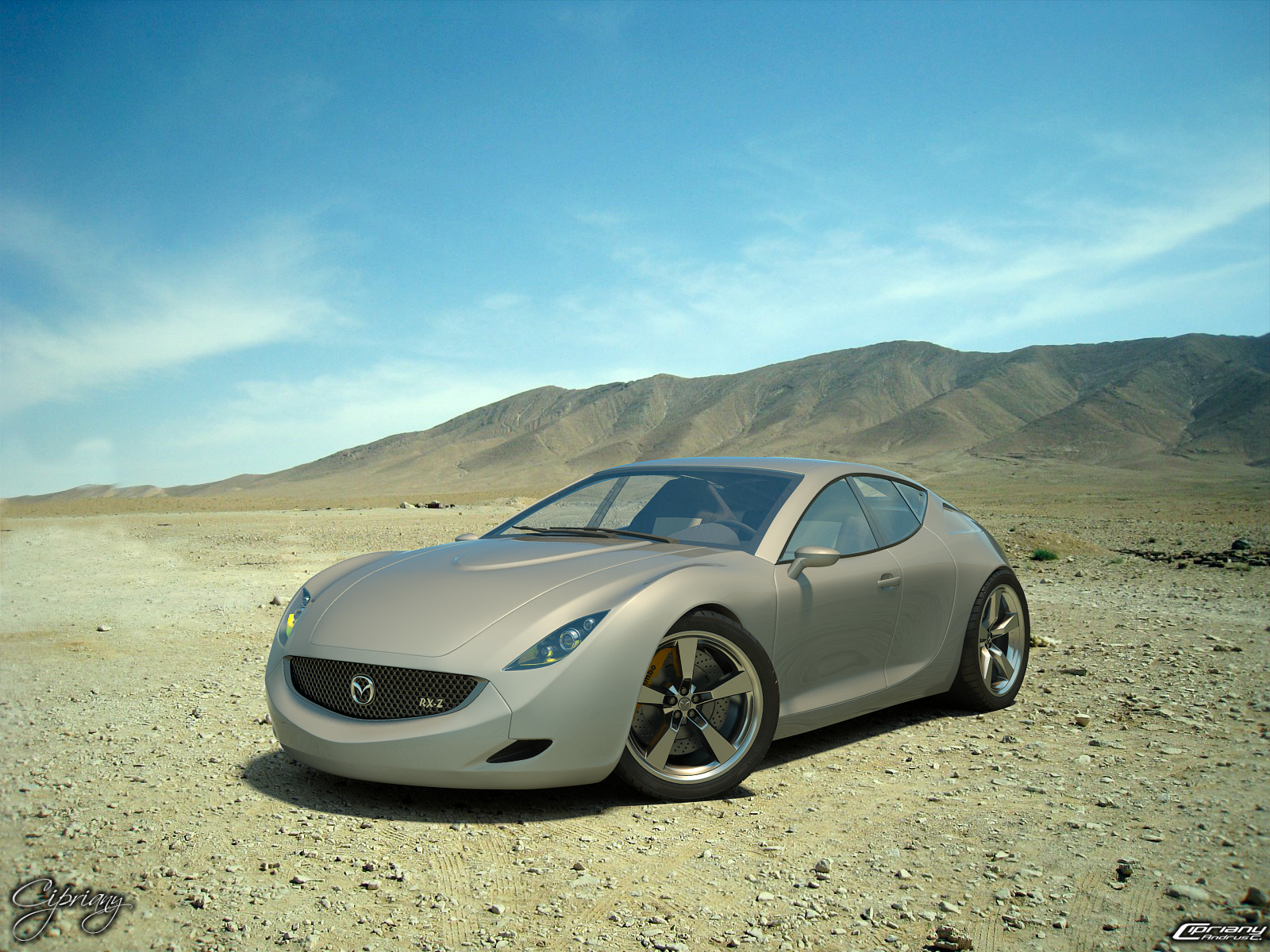 Mazda RX-Z concept 23 by cipriany