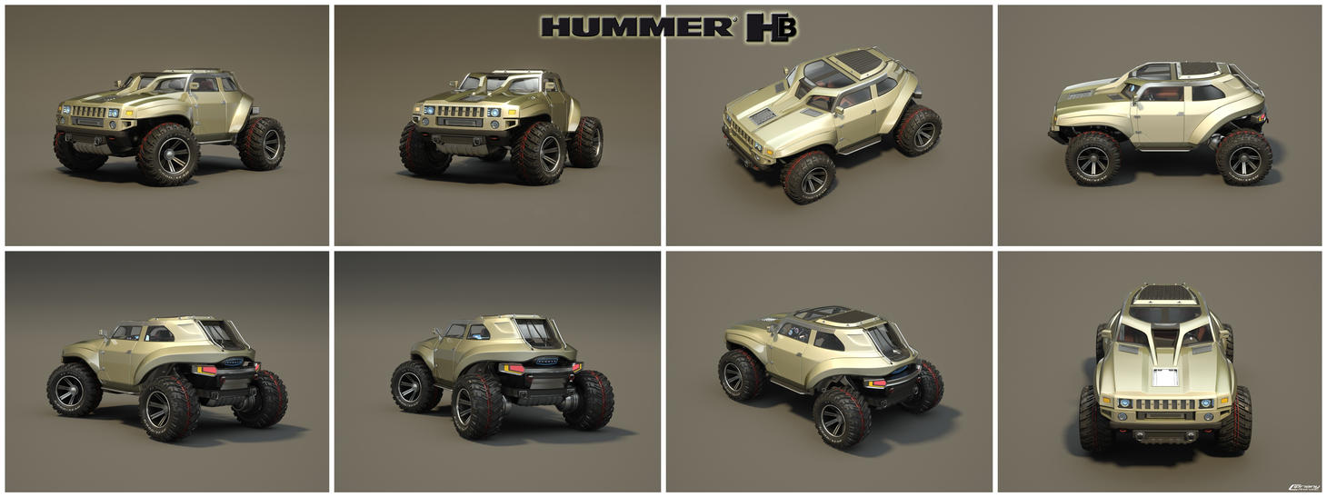 Hummer HB concept by Cipriany