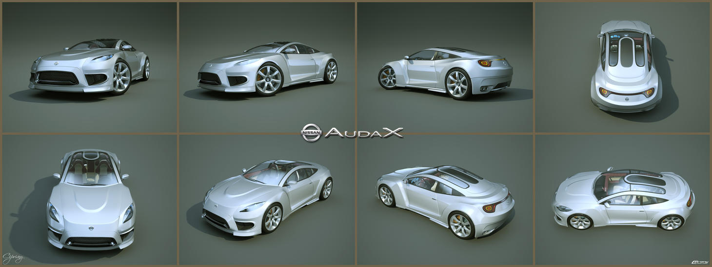 Nissan Audax concept 9 by cipriany