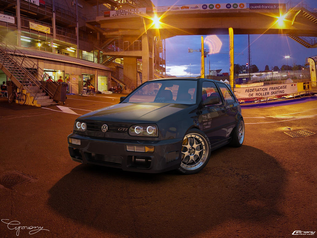VW Golf 3 GTI 7 by ~cipriany