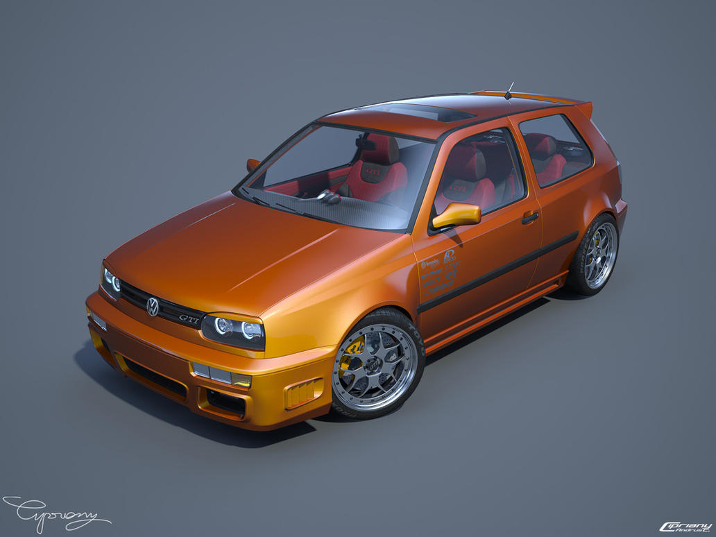 VW Golf 3 GTI 13 by cipriany