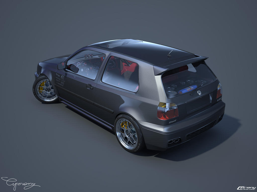 vw golf 3 gti 17 by cipriany on deviantart. Black Bedroom Furniture Sets. Home Design Ideas