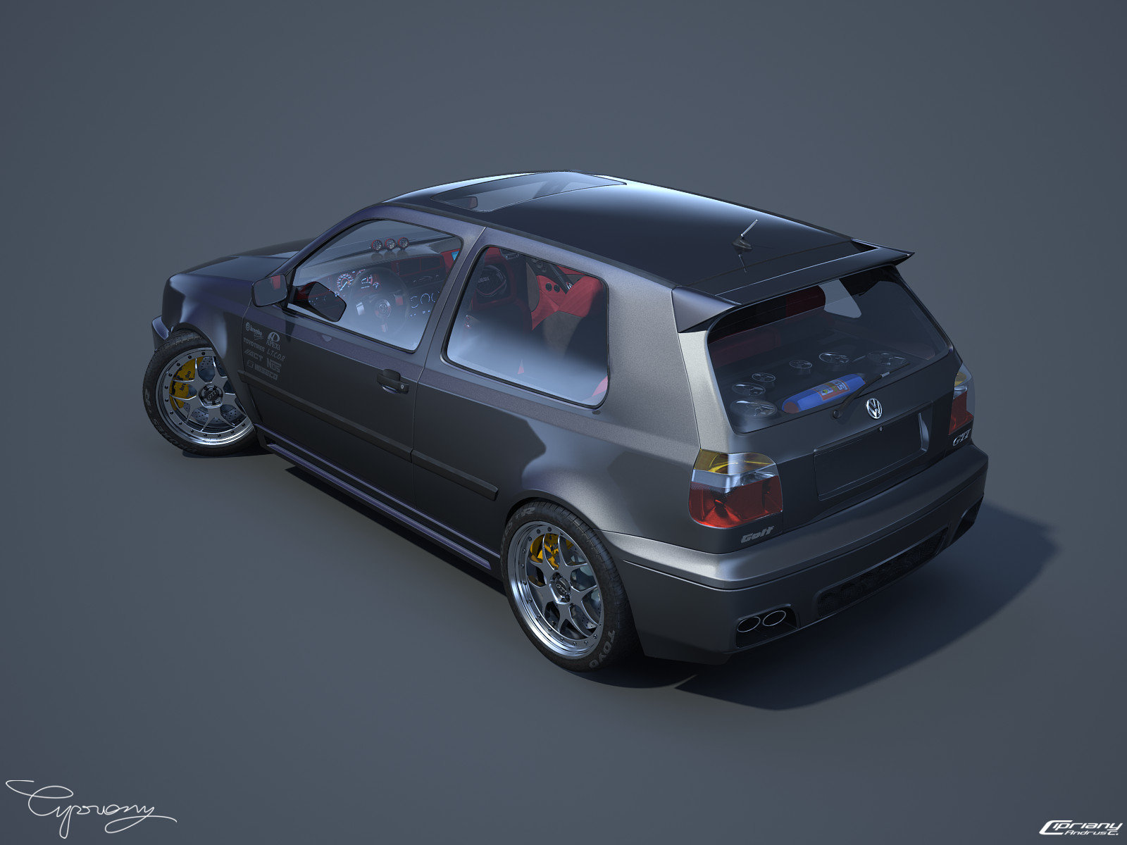 VW Golf 3 GTI 17 by cipriany