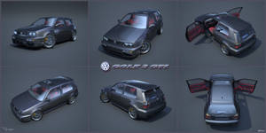 VW Golf 3 GTI 22 by cipriany