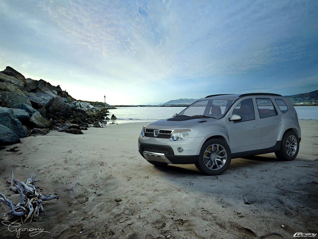 dacia duster tuning by cipriany on deviantart. Black Bedroom Furniture Sets. Home Design Ideas