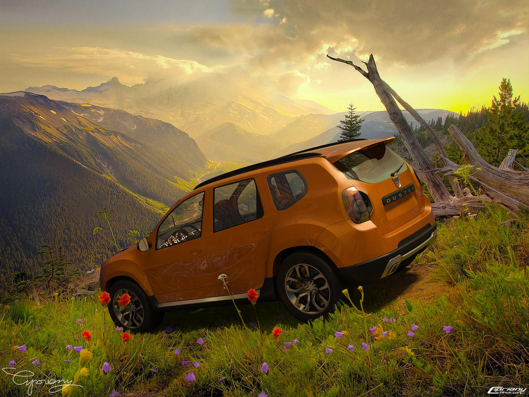 dacia duster tuning 3 by cipriany on deviantart. Black Bedroom Furniture Sets. Home Design Ideas