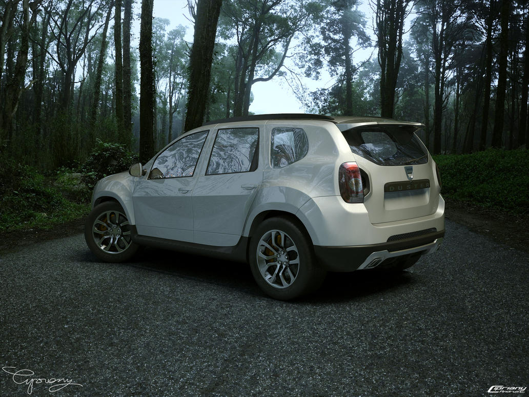 dacia duster tuning 6 by cipriany on deviantart. Black Bedroom Furniture Sets. Home Design Ideas