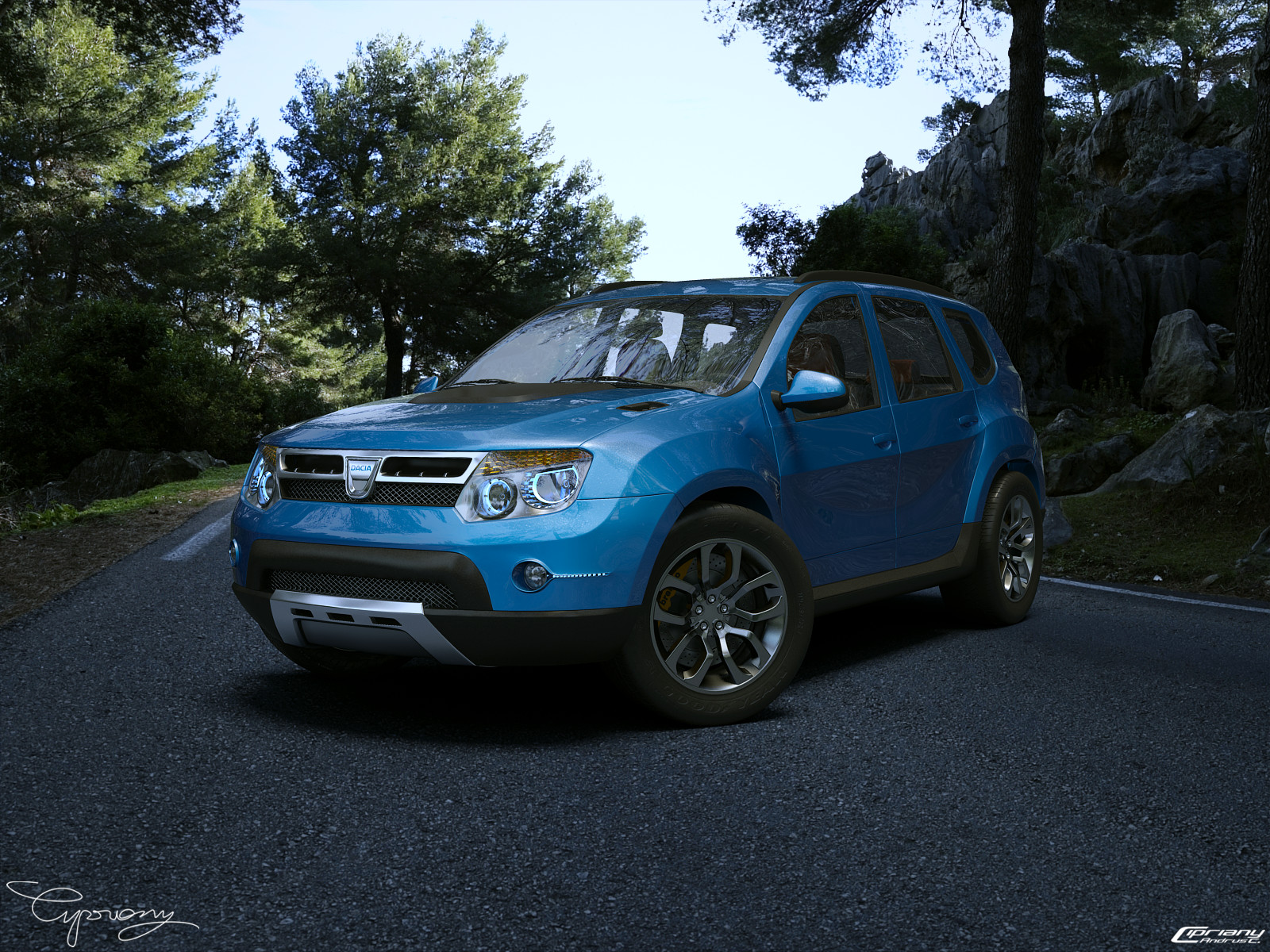 dacia duster tuning 7 by cipriany on deviantart. Black Bedroom Furniture Sets. Home Design Ideas