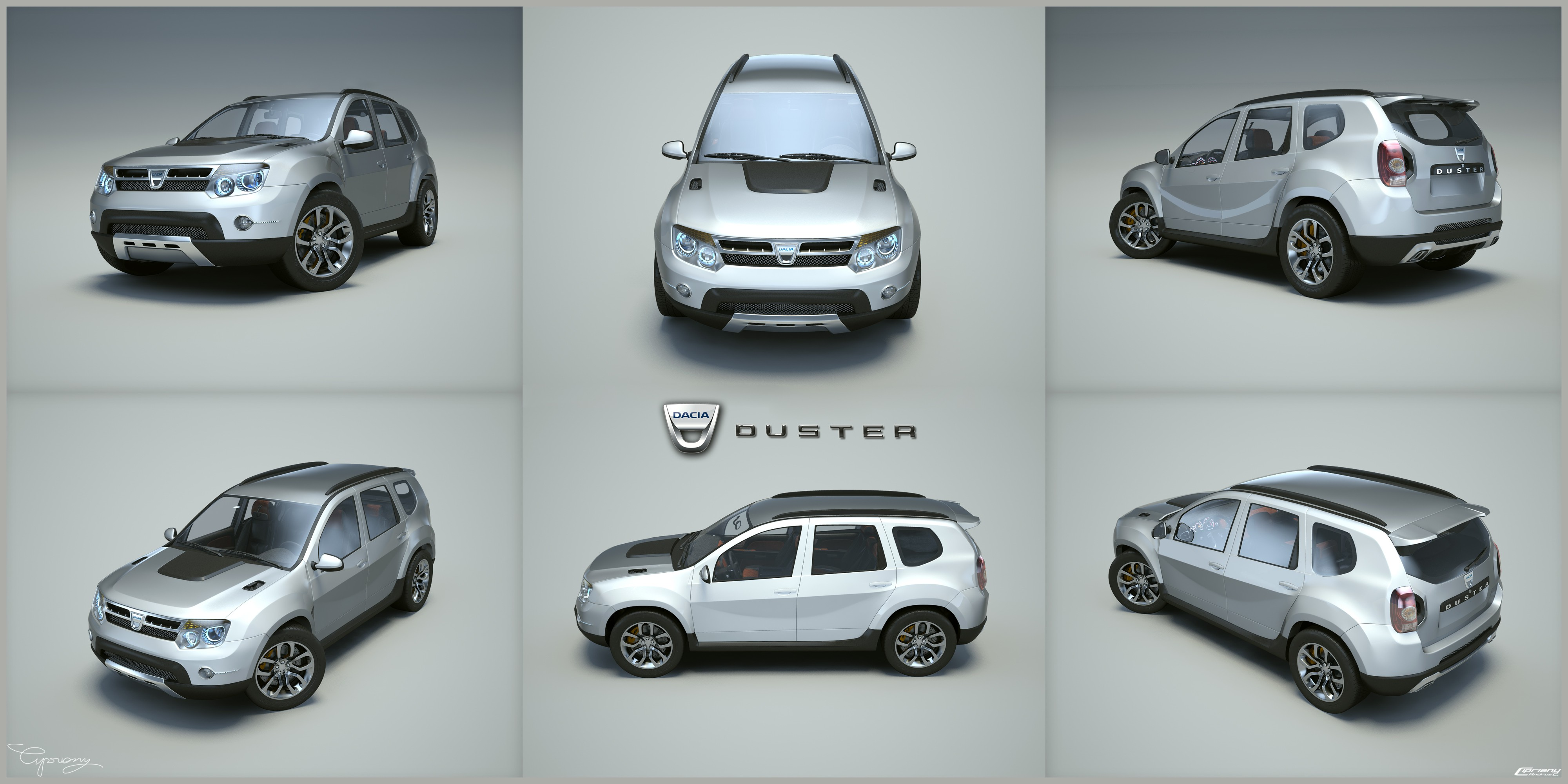 dacia duster tuning 9 by cipriany on deviantart. Black Bedroom Furniture Sets. Home Design Ideas