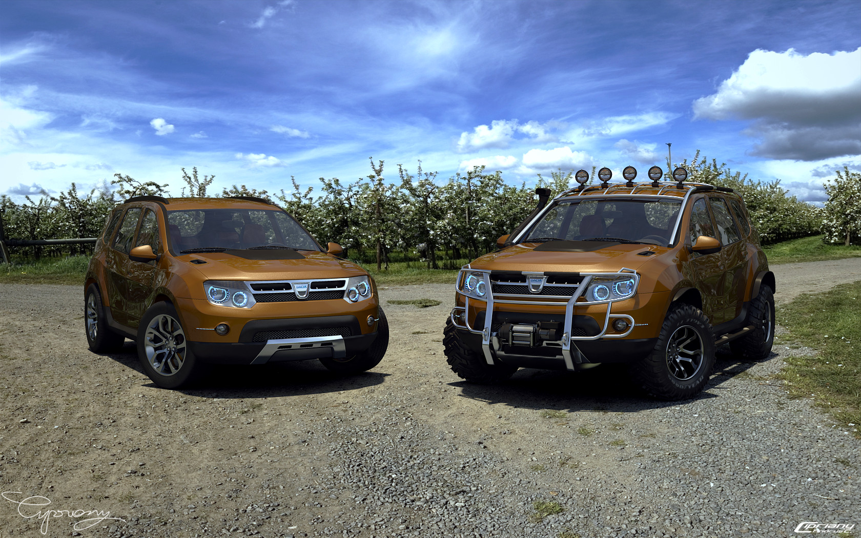 dacia duster tuning 10 by cipriany on deviantart. Black Bedroom Furniture Sets. Home Design Ideas