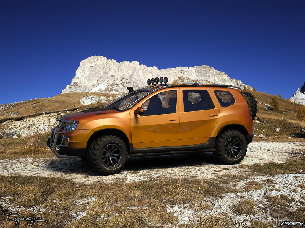 dacia duster tuning 12 by cipriany on deviantart. Black Bedroom Furniture Sets. Home Design Ideas