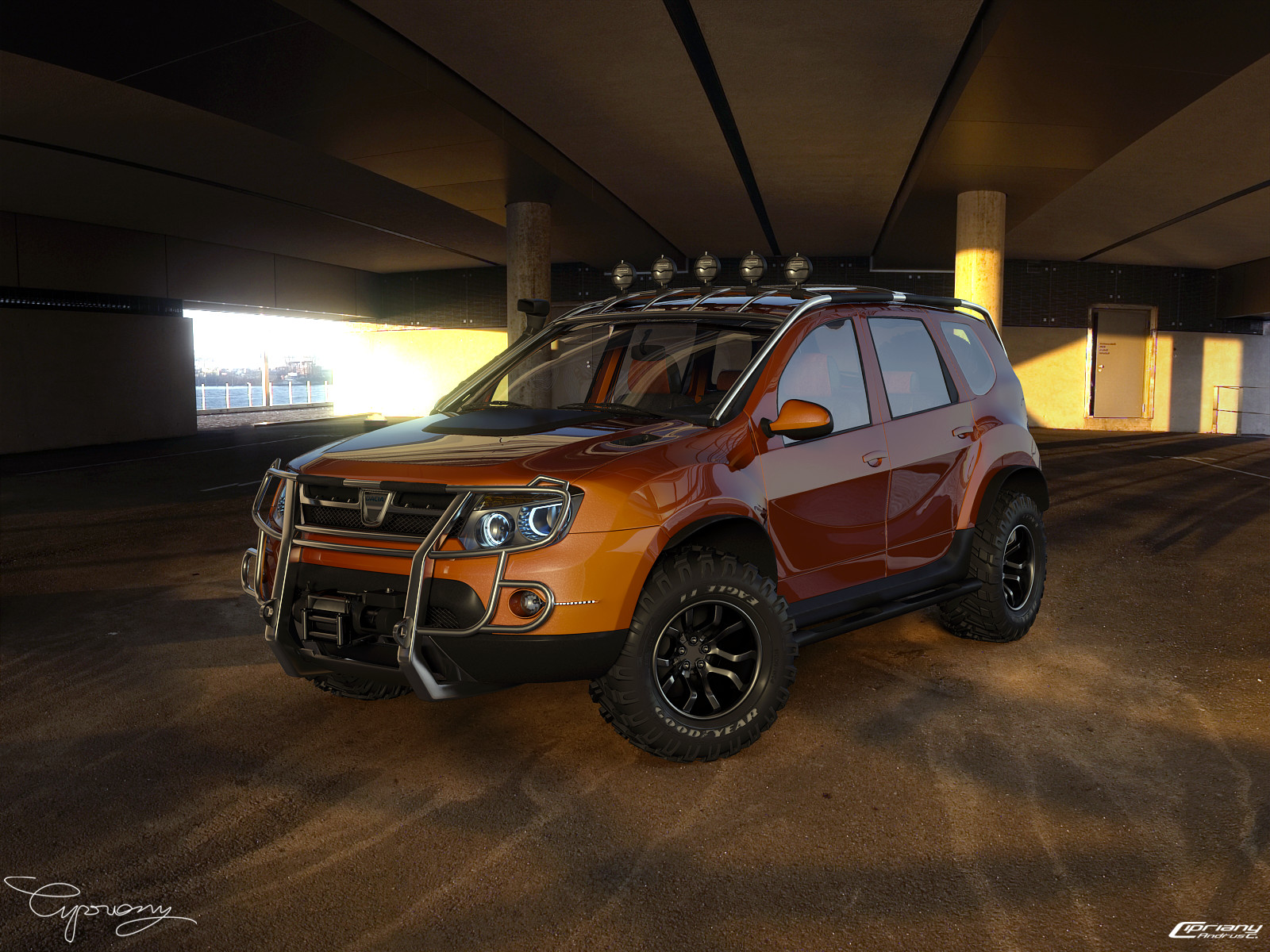 dacia duster tuning 13 by cipriany on deviantart. Black Bedroom Furniture Sets. Home Design Ideas