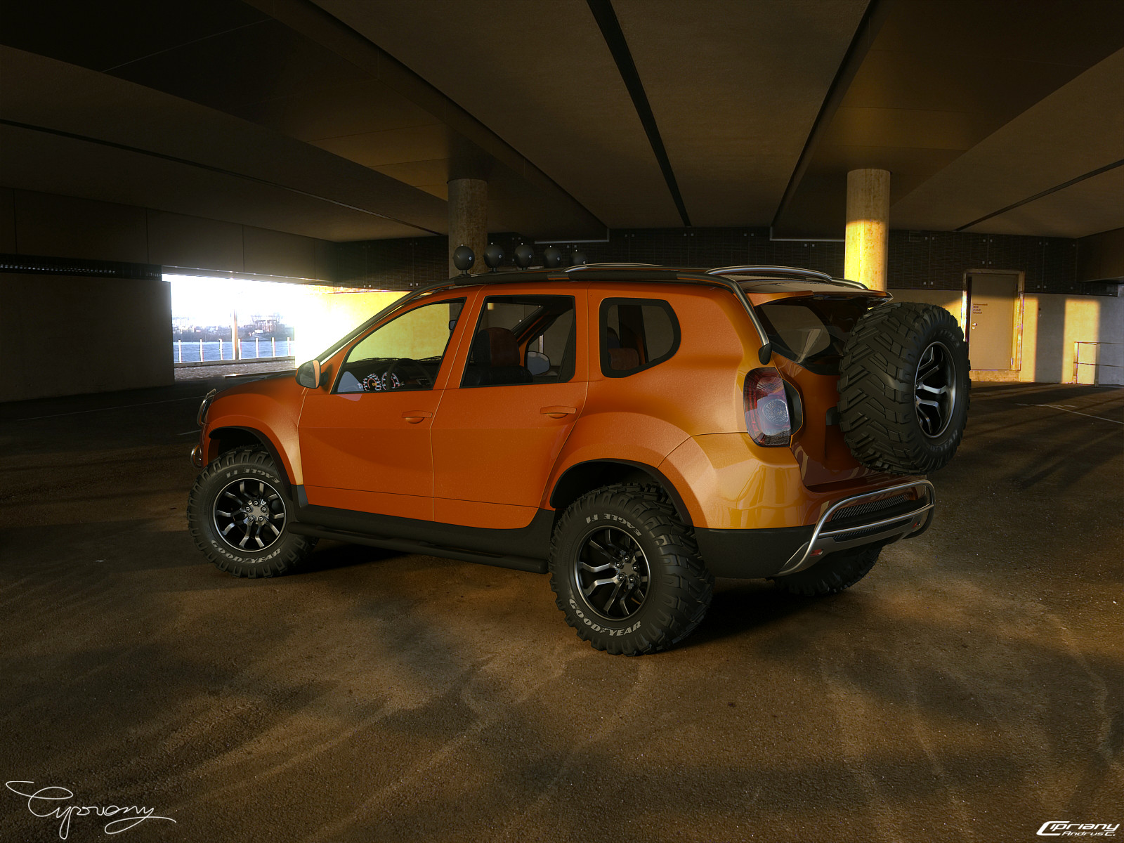 dacia duster tuning 14 by cipriany on deviantart. Black Bedroom Furniture Sets. Home Design Ideas