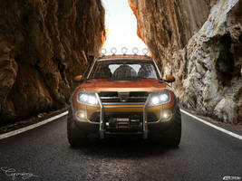 Dacia Duster Tuning 15 - Light by cipriany