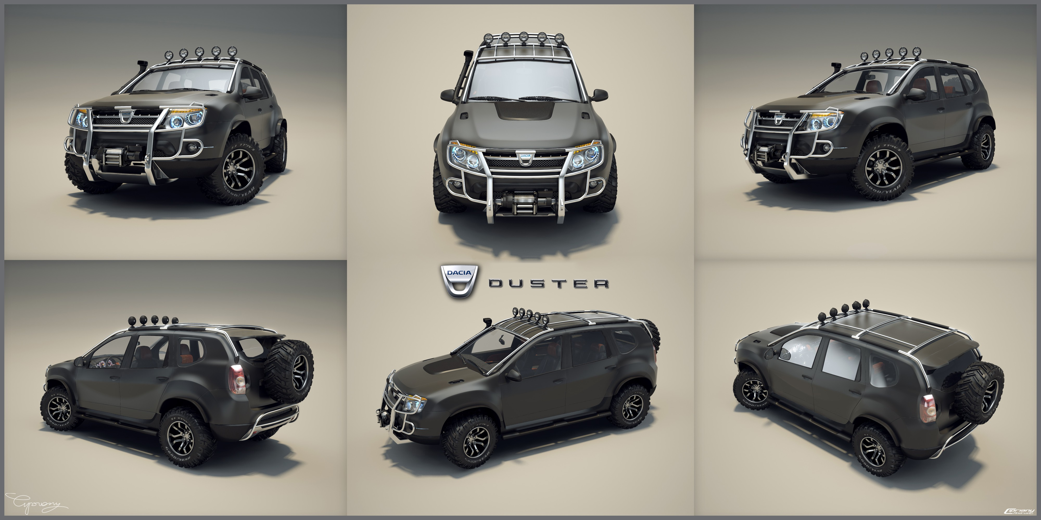 dacia duster tuning 17 by cipriany on deviantart. Black Bedroom Furniture Sets. Home Design Ideas