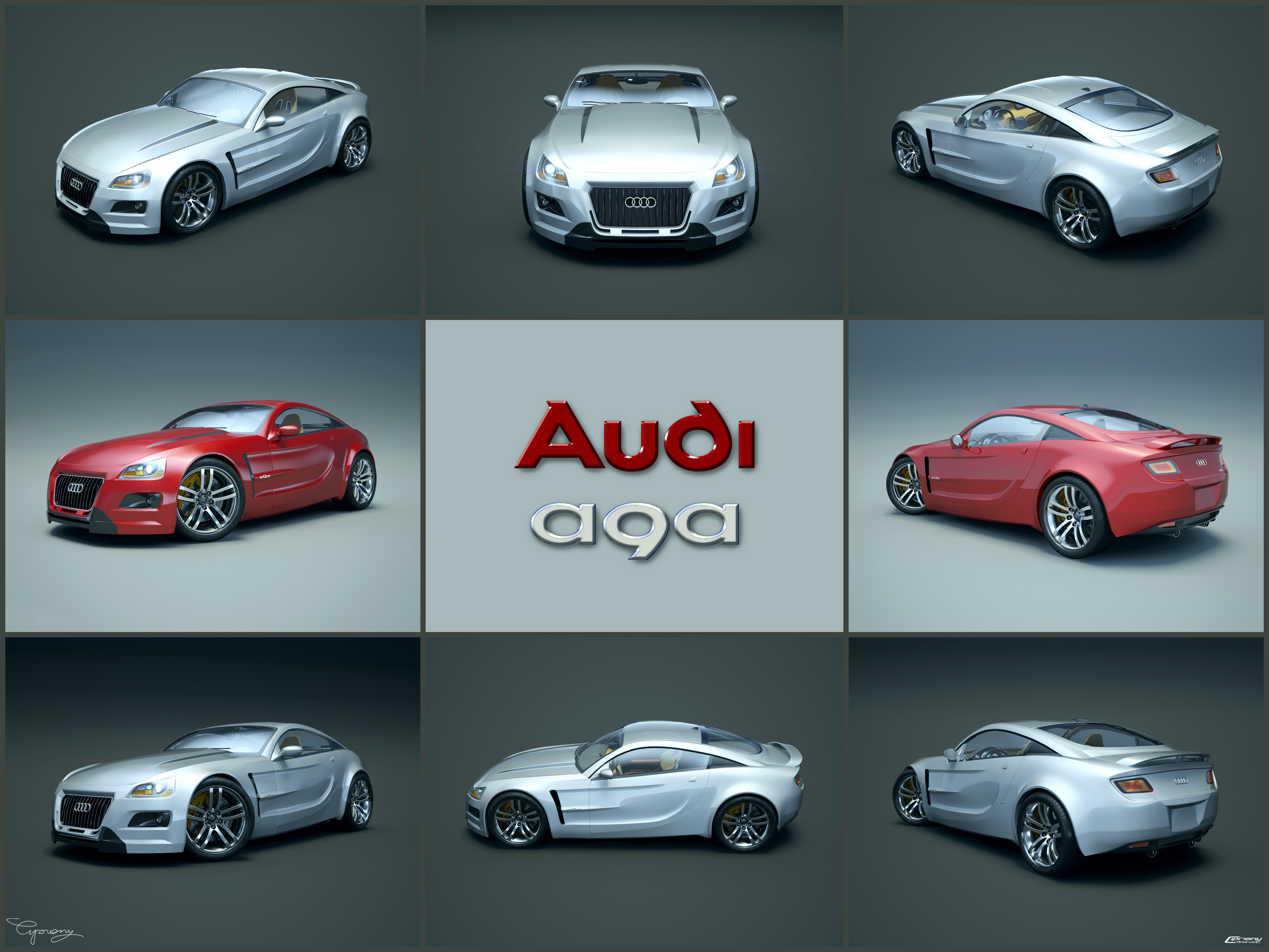 Audi aQa version-3 14 by cipriany