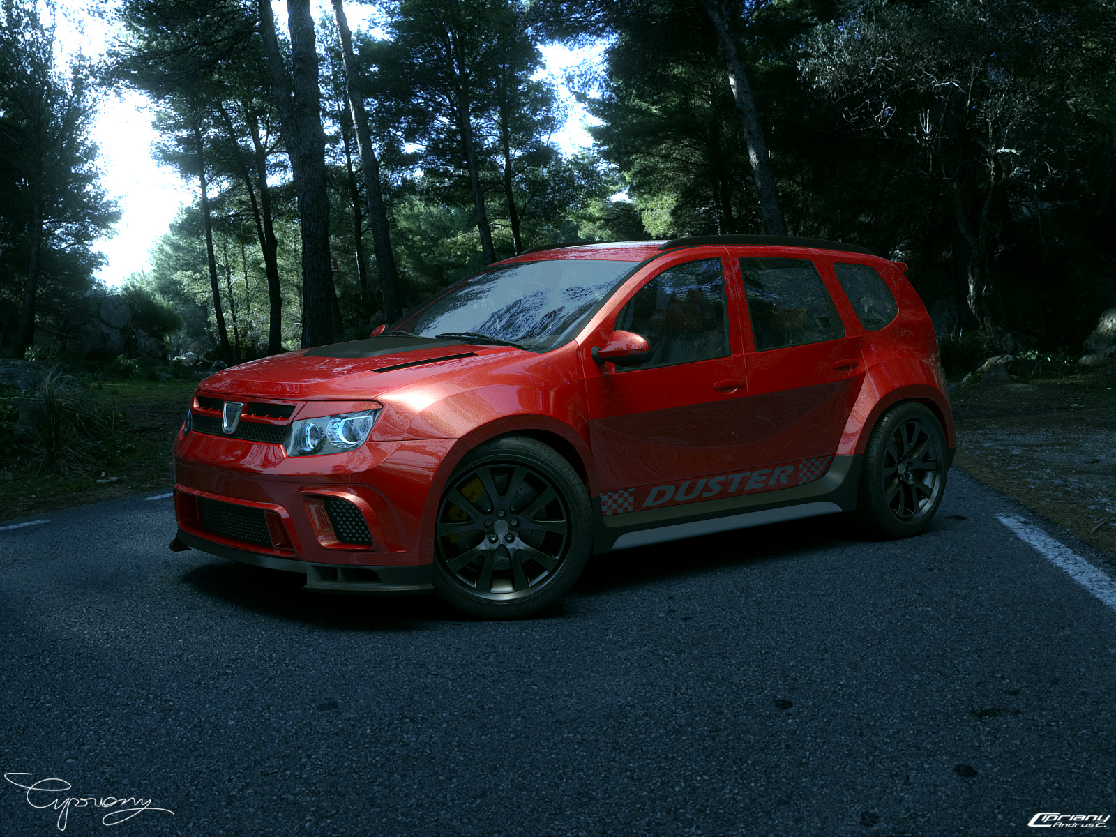 dacia duster tuning 20 by cipriany on deviantart. Black Bedroom Furniture Sets. Home Design Ideas
