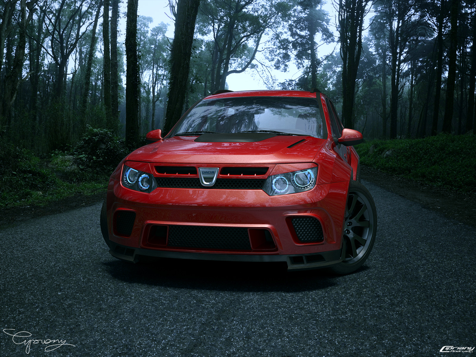dacia duster tuning 25 by cipriany on deviantart. Black Bedroom Furniture Sets. Home Design Ideas