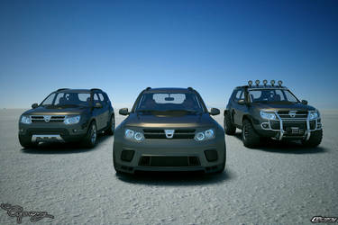 Dacia Duster Tuning 27 by cipriany