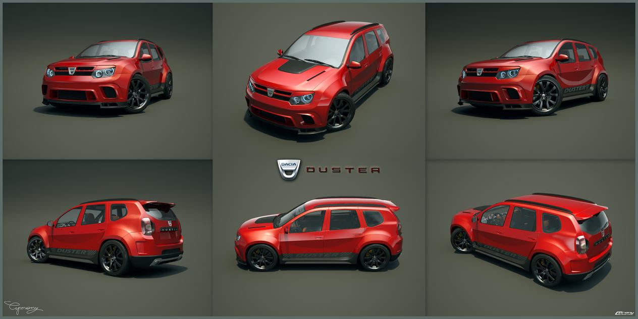 dacia duster tuning 29 by cipriany on deviantart. Black Bedroom Furniture Sets. Home Design Ideas
