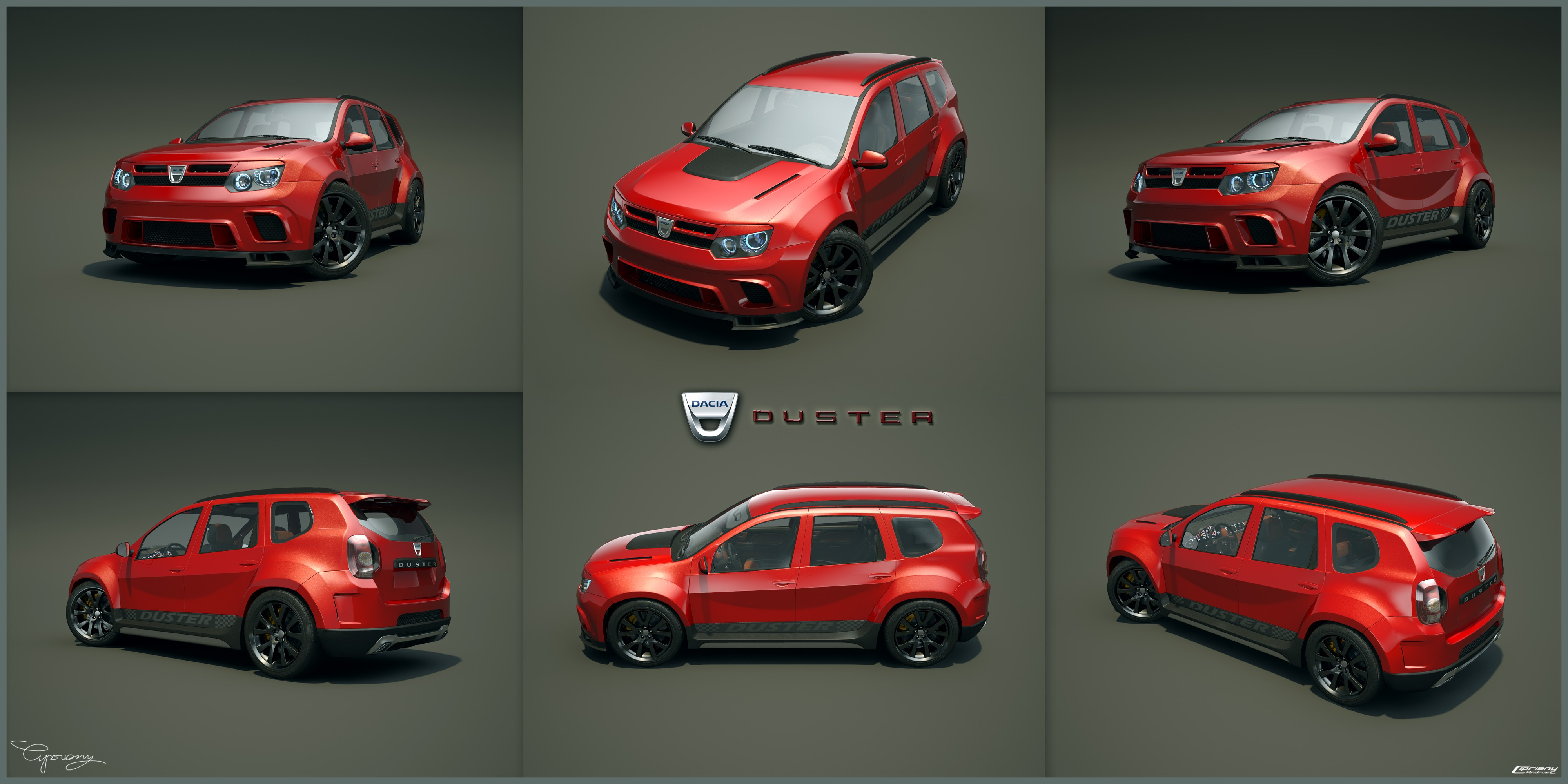 Dacia Duster Tuning 29 by cipriany on DeviantArt