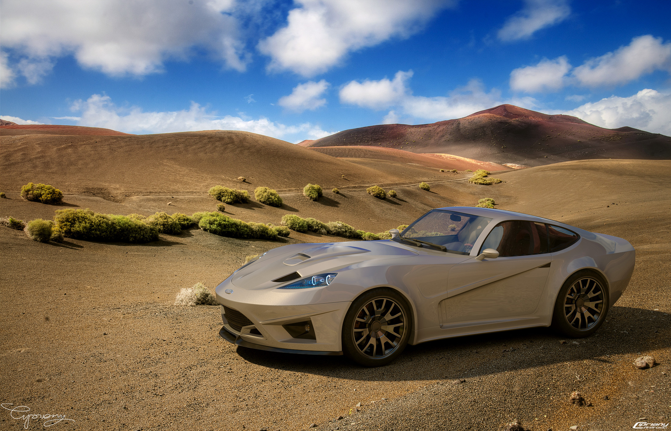 Ford GT-V concept 10 by cipriany