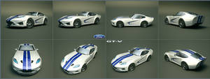 Ford GT-V concept 12 by cipriany