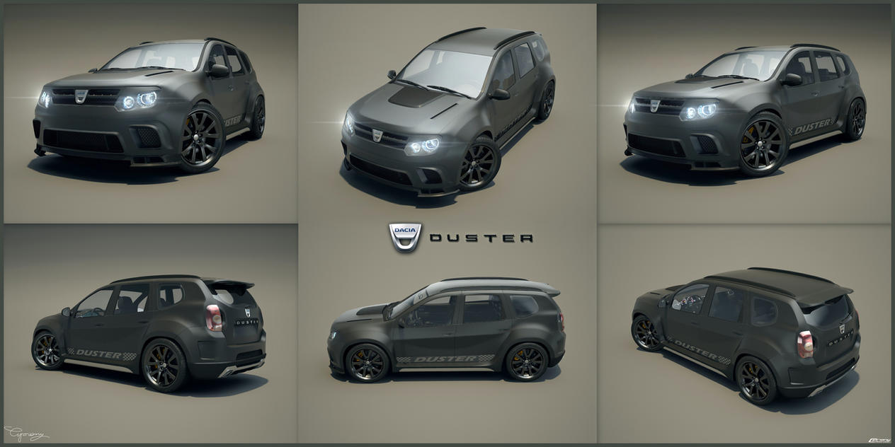 dacia duster tuning 44 by cipriany on deviantart. Black Bedroom Furniture Sets. Home Design Ideas