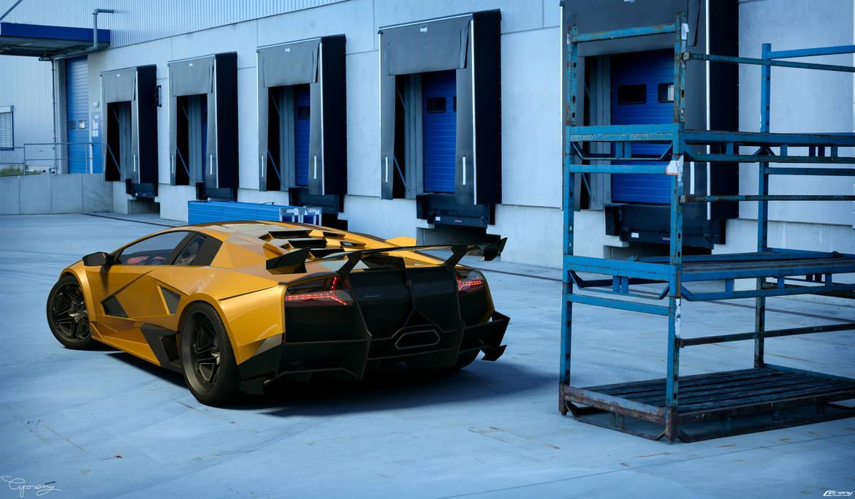 Lamborghini Murcielago Sv Tuning 9 By Cipriany On Deviantart
