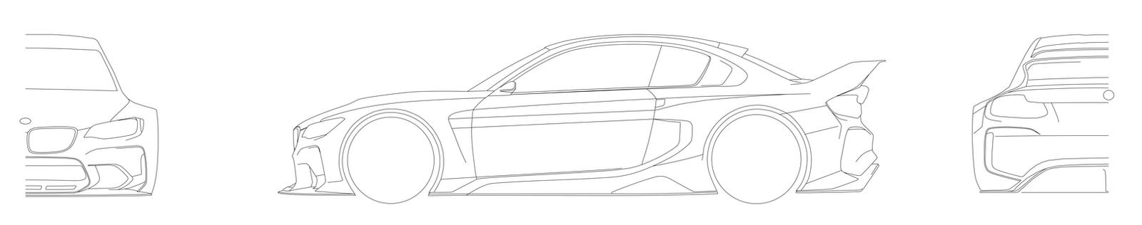 Bmw Gt Vision Blueprints by cipriany on DeviantArt