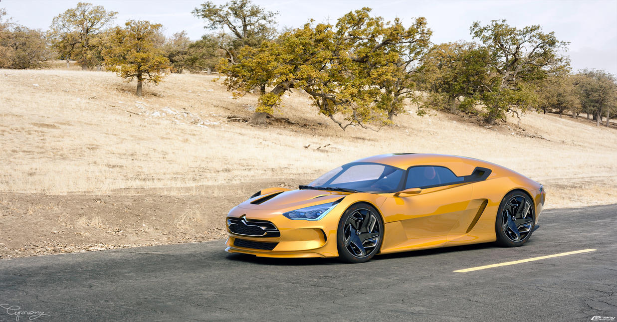 Citroen EVE concept 13 by cipriany