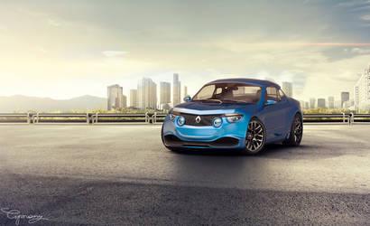 Renault 8 Gordini - concept V2 - 5