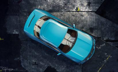 Renault 8 Gordini - concept V2 - 8