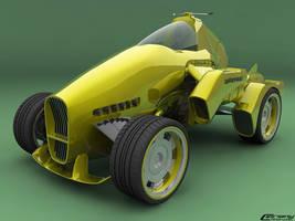 Futuristic car by cipriany