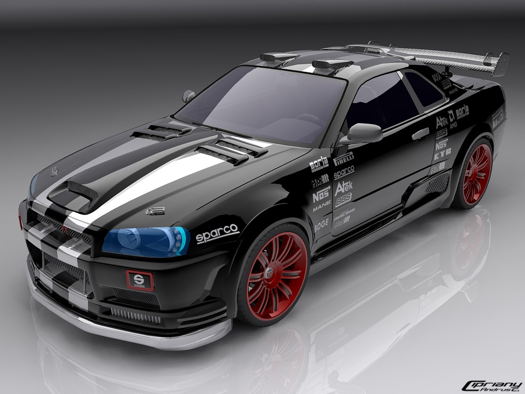 Nissan Skyline by cipriany