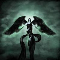 Ambivalent Divinity ~ Digital Art by Sedilaraa