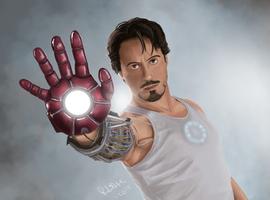 Iron Man by prince-kristian