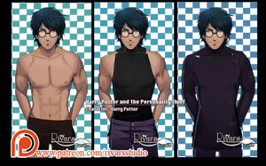HPPT Character: Harry Potter by prince-kristian