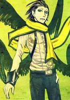 Persona 3 - Ryoji-kun by queenvera