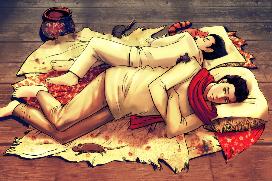 Bolin and Mako by quee...