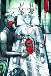 Underworld Surgery -red version- by queenvera