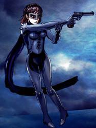 Makoto with Gun