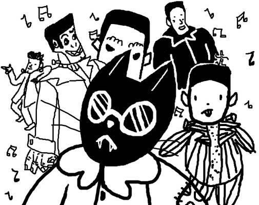 The Dancing Frankenstein Family