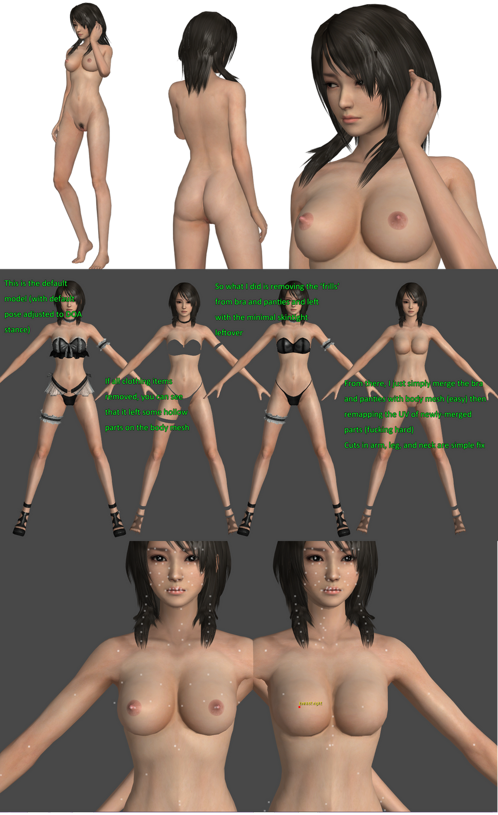 Frame by frame nude